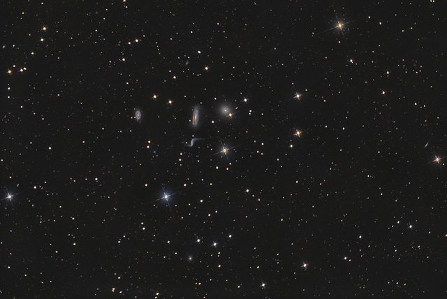 Hickson 44 galaxy group with NGC3190