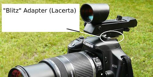 Using a red dot finder on your DSLR