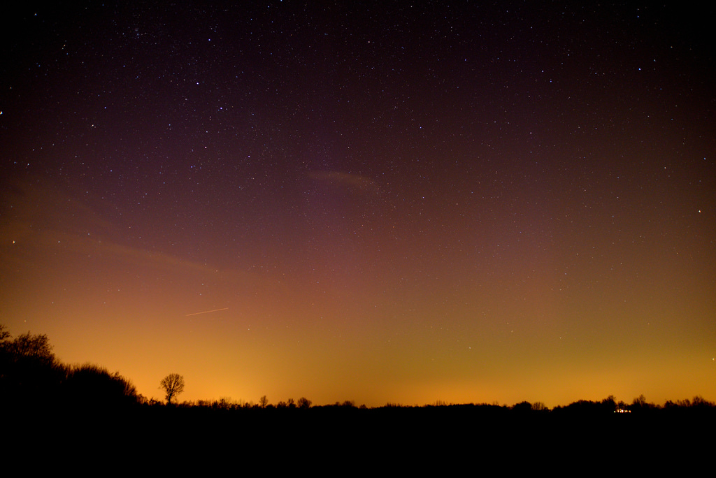 Aurora photography from the Netherlands