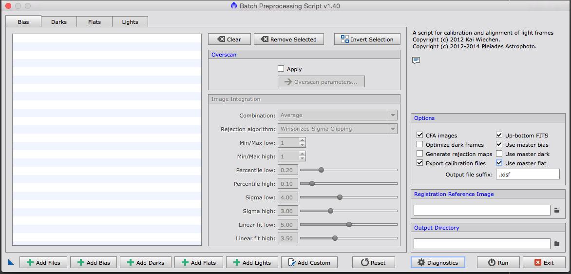 PixInsight basic DSLR processing workflow