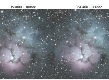 TrifidNebula-ISO-comparison