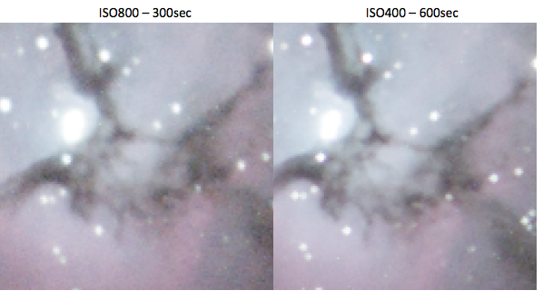 TrifidNebula-ISO-comparison-zoom