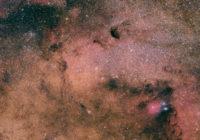 M24 Sagittarius star cloud and surroundings