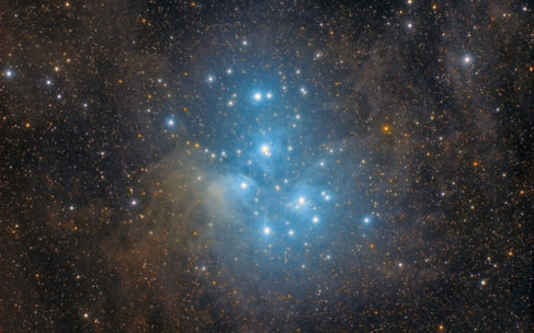 Imaging the Pleiades properly